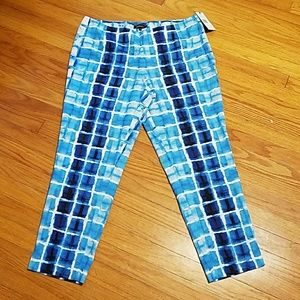 Lafayette 148 Waterfall crop pants
